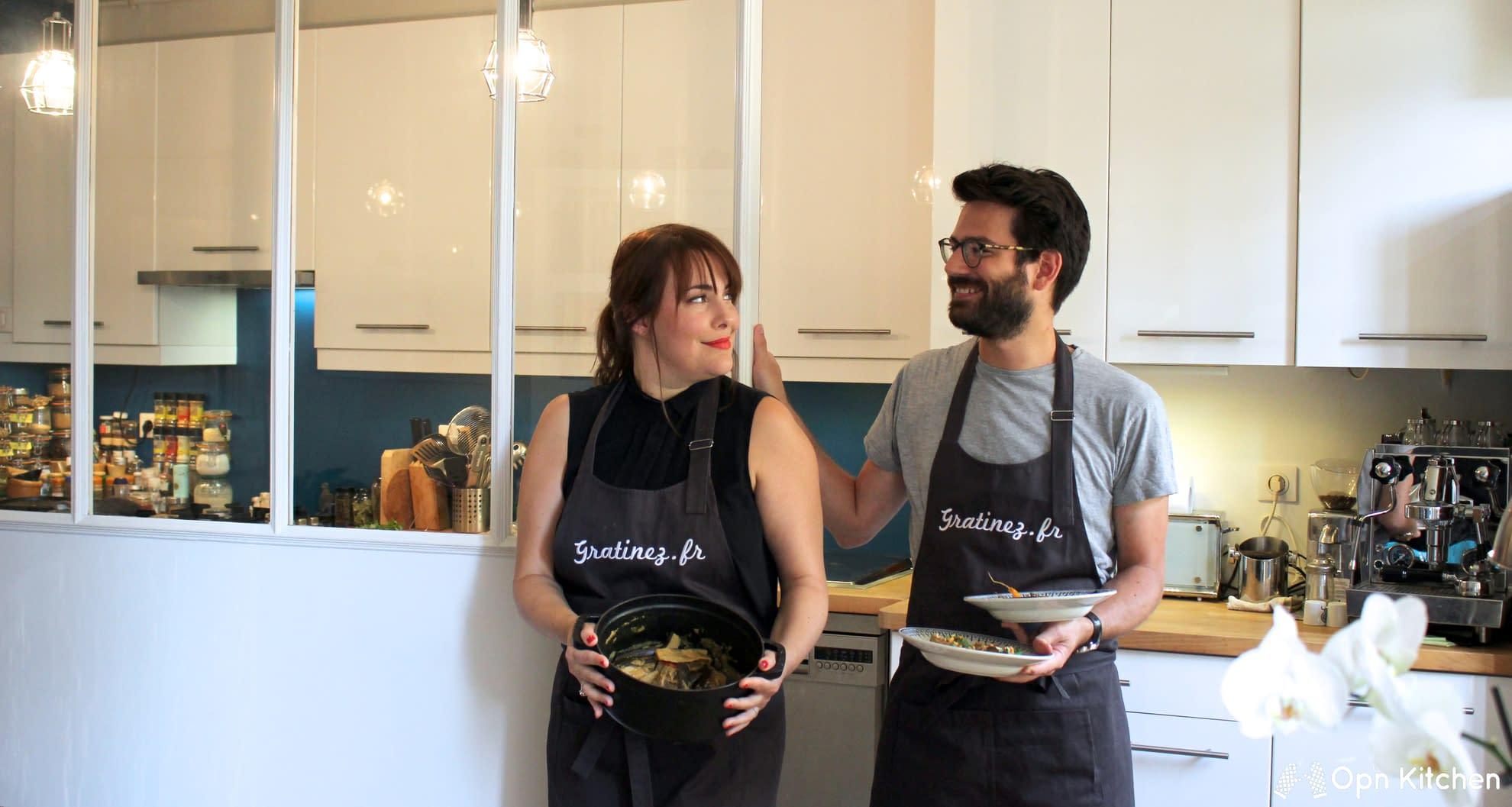 Cours de cuisine avec charles et marie lou bouchart liz - Offrir un cours de cuisine ...